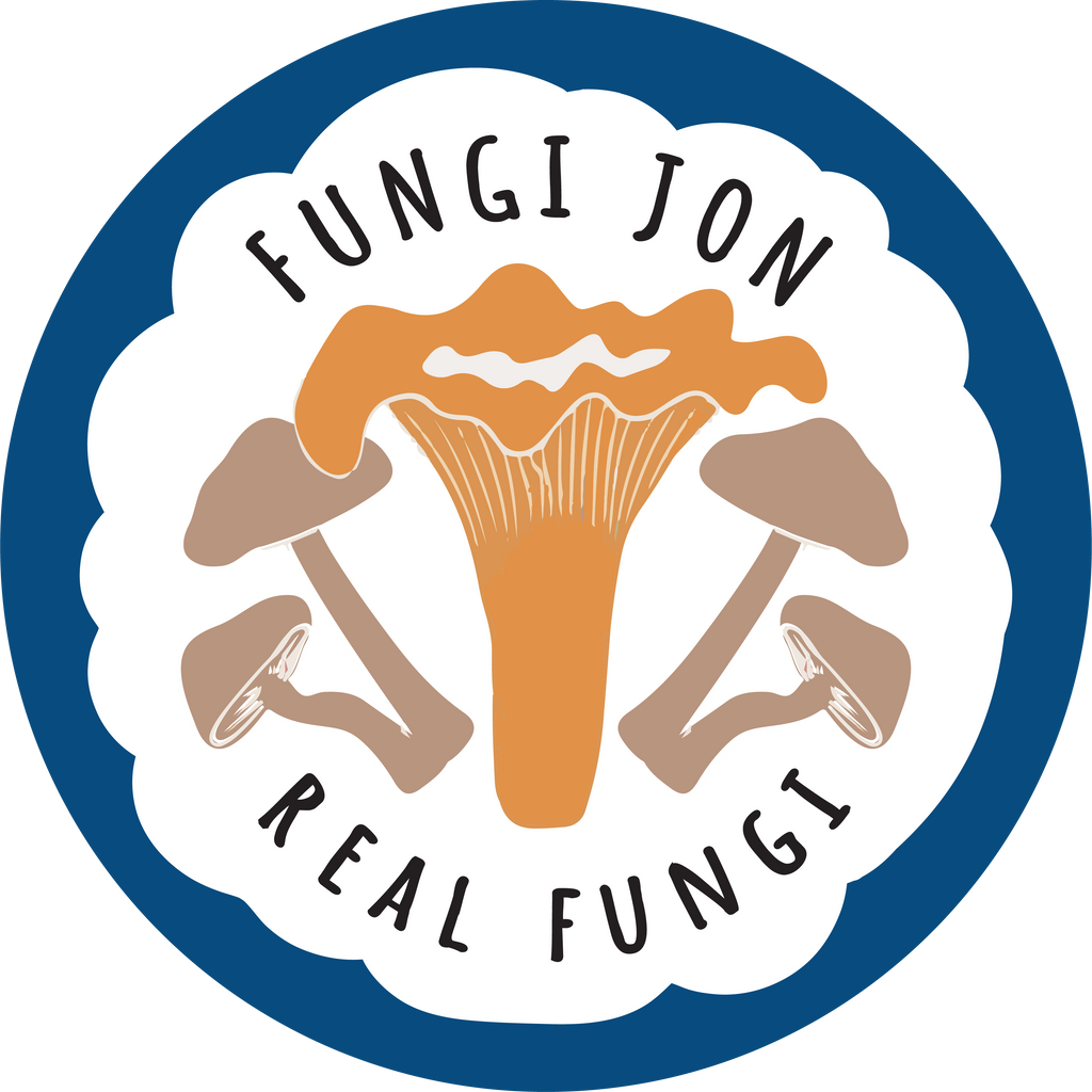 Fungi Jon Sticker