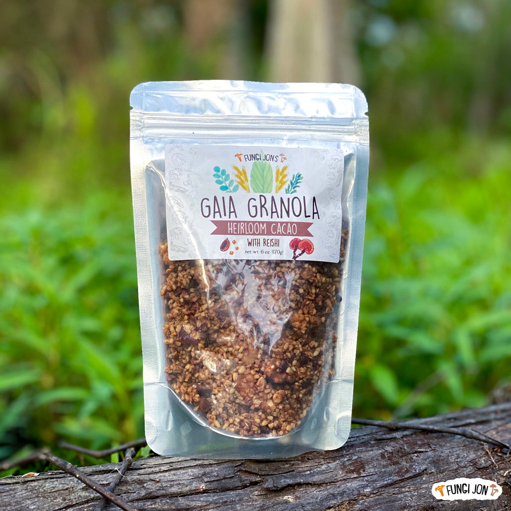 Gaia Granola - Reishi Heirloom Cacao