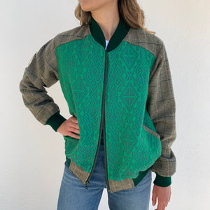 Victoria Yakan Jacket / Green / Large
