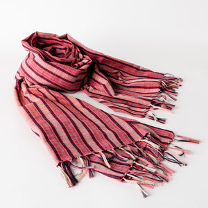 Kantarines Scarf / Pink Stripes