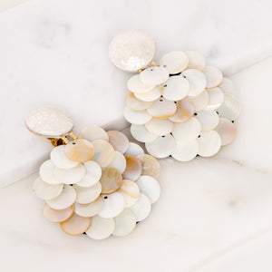 Triton Mother of Pearl Earrings