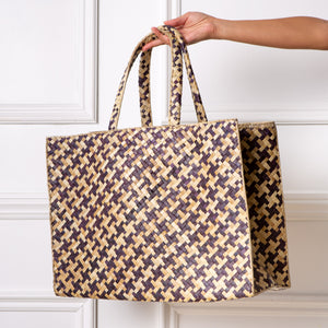 Marché Tote / Houndstooth