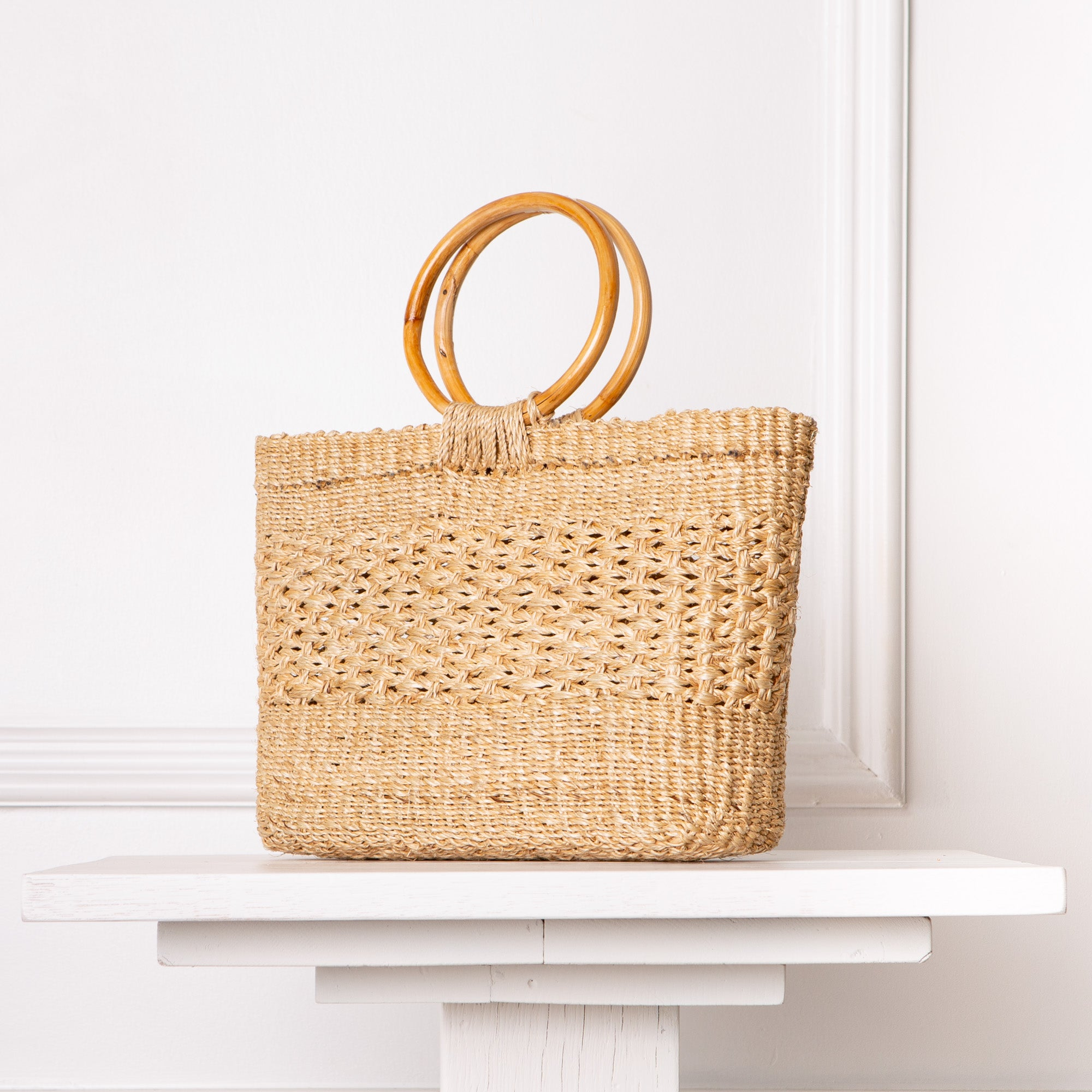 Letitia Open Weave Bag