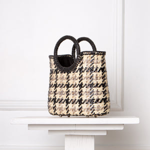 Iris Tote / Houndstooth
