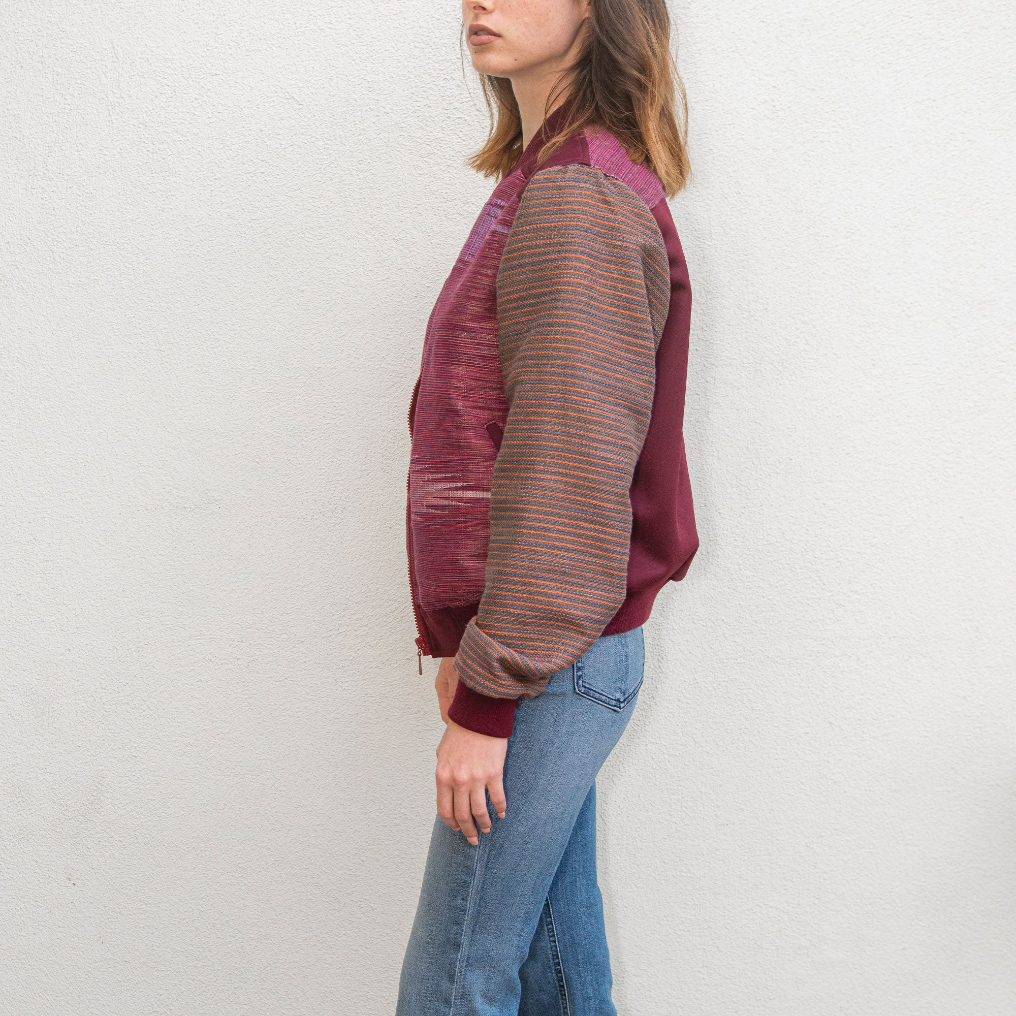 Victoria Marawi Jacket / Burgundy / Medium