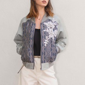 Victoria Yakan Jacket / Cloudy Blue / Small
