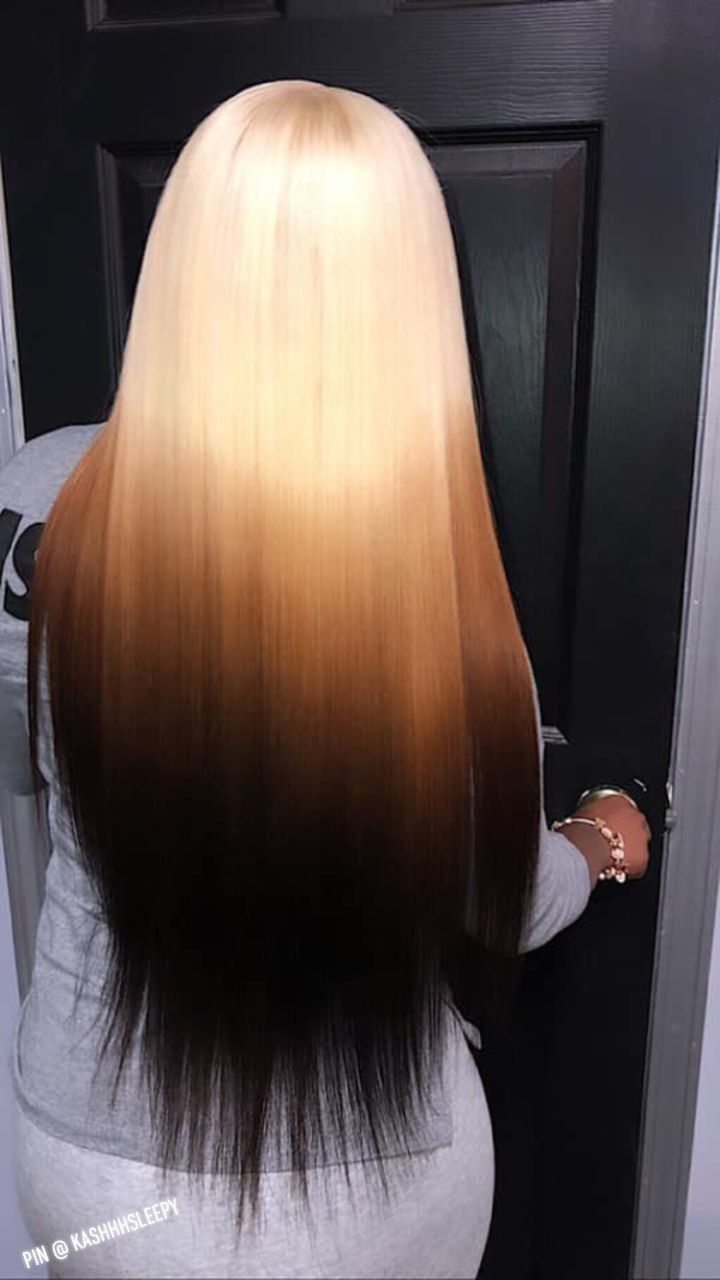 Long Ombre extensions