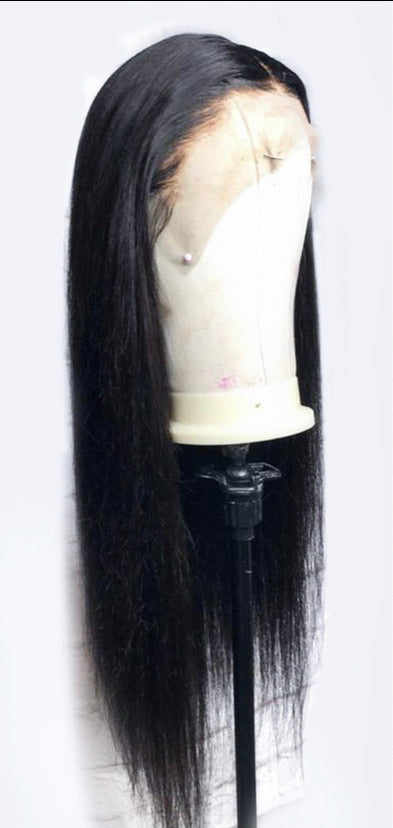 Virgin Human Hair Straight Full Lace Wig