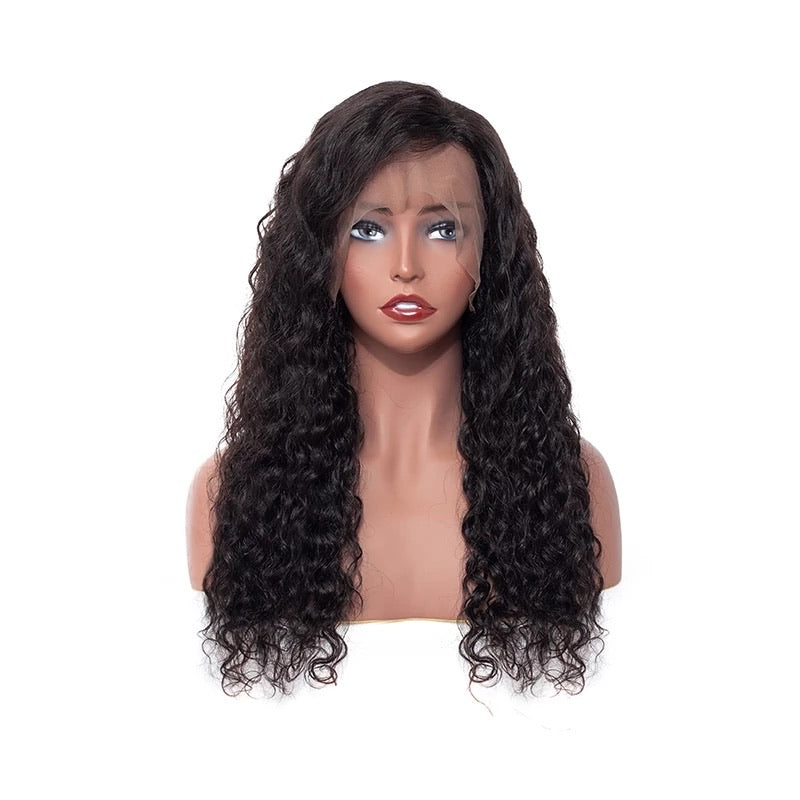 Water Wave Brazilian hair wig