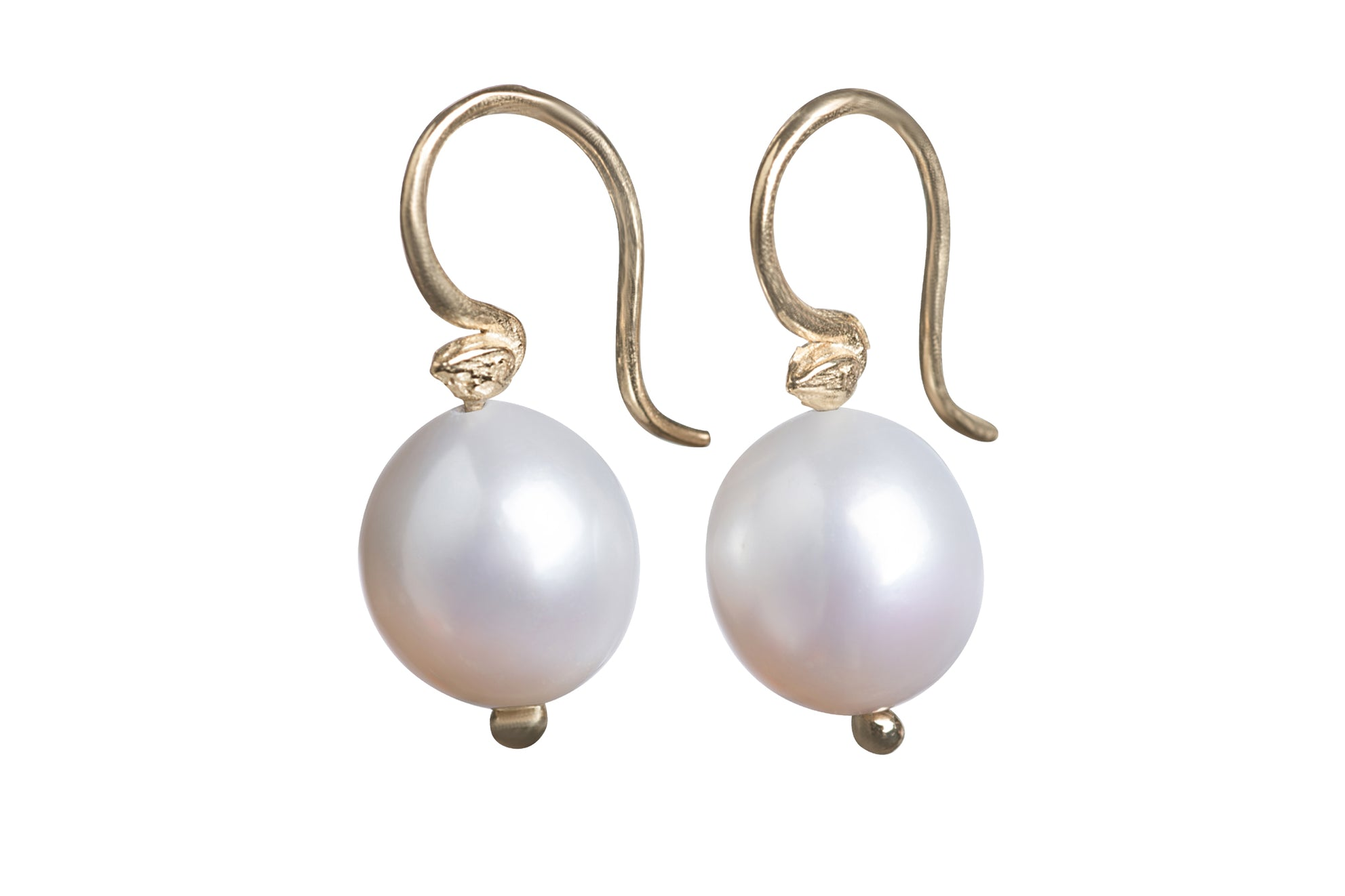 earrings rollover white yg akoya single pearl to zoom stud