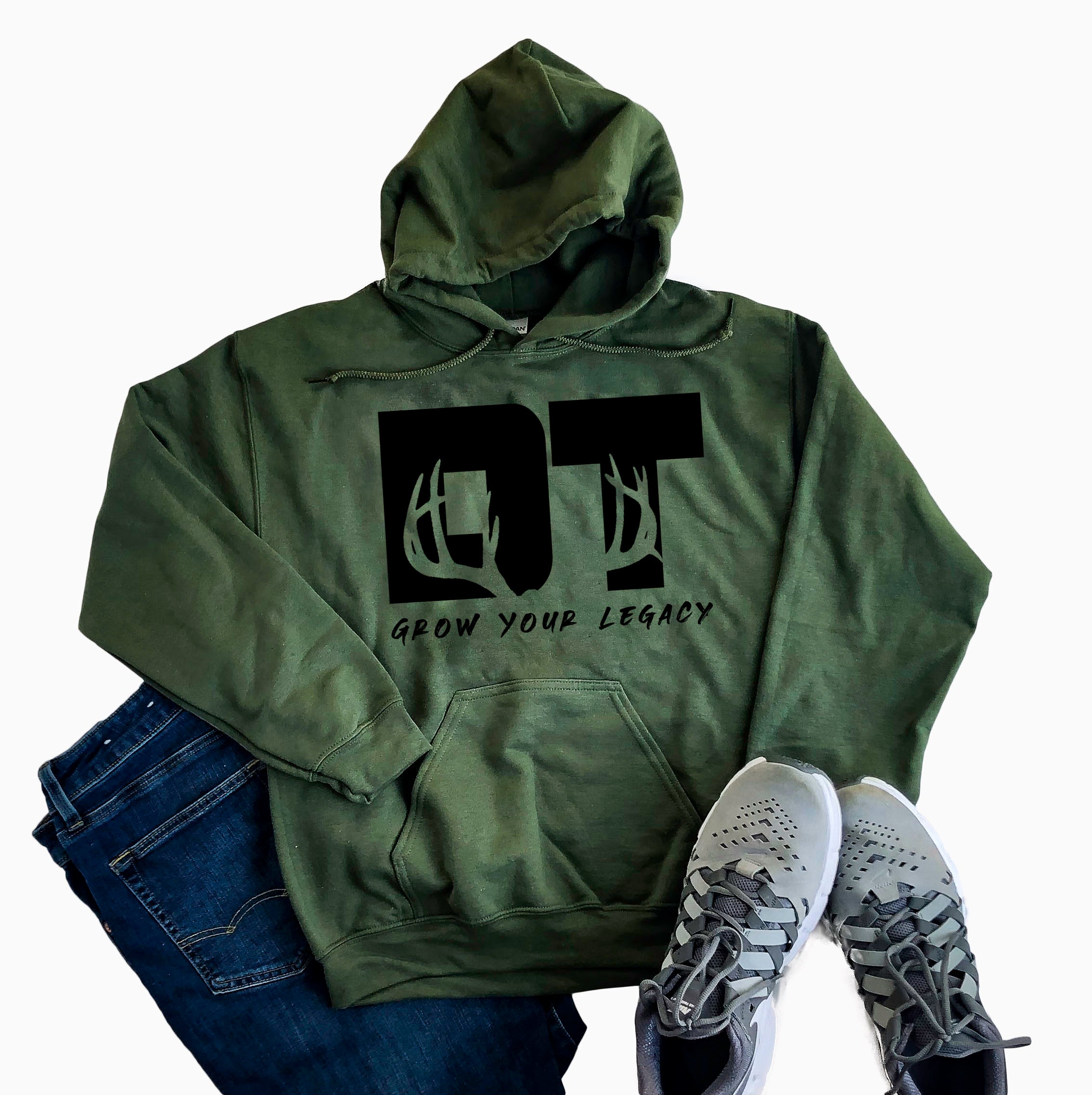 Military Green Grow Your Legacy Sweatshirt