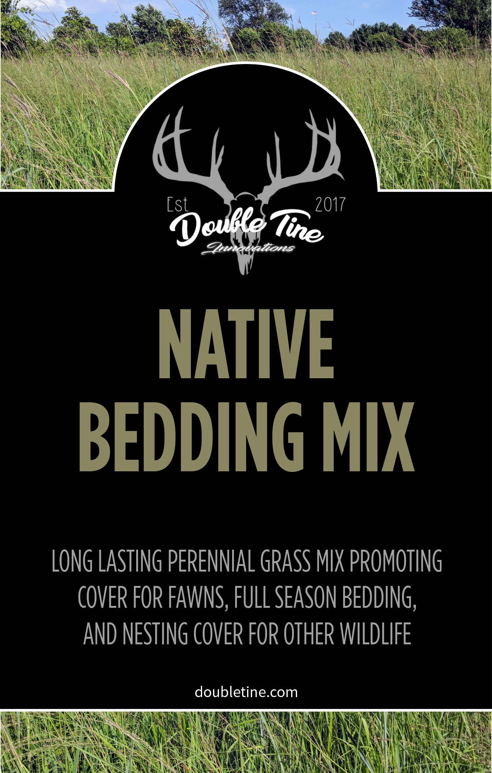 Native Bedding Mix - Double Tine Innovations