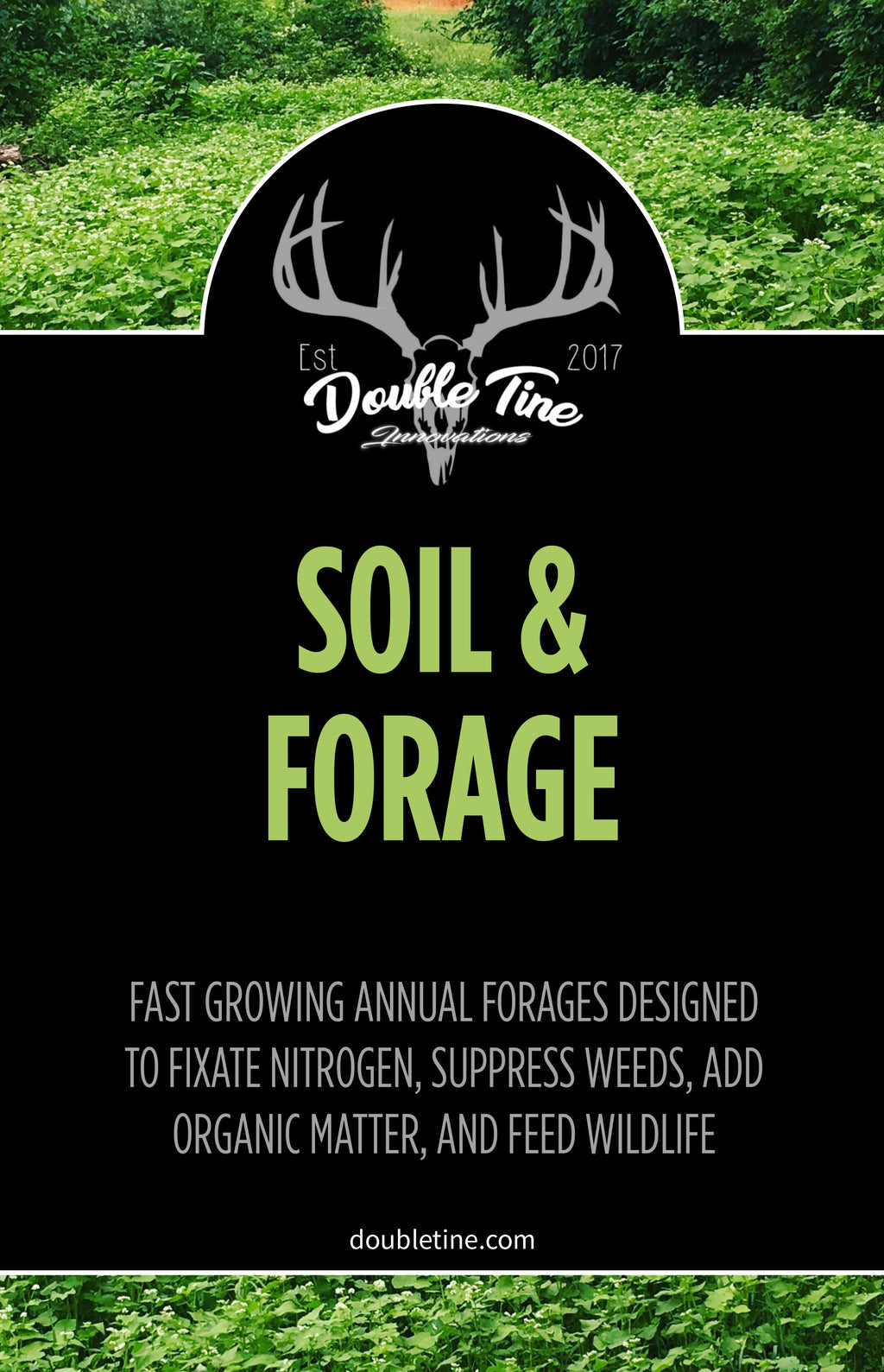Soil and Forage Mix - Double Tine Innovations