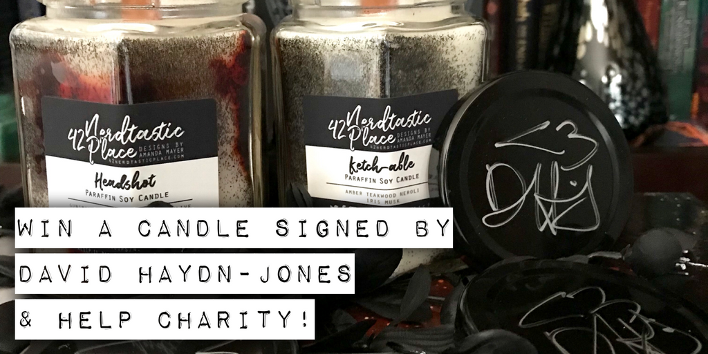 David Haydn-Jones Candle Giveaway (And Charity Event)