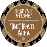 Time Travel Brew Blend Candle, Chocolate Caramel Coffee
