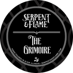 The Grimoire Candle, Amber Balsam Patchouli