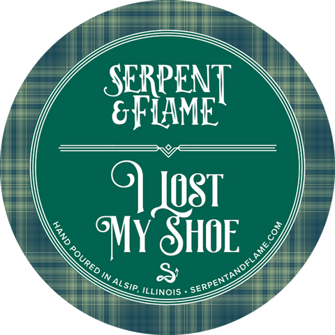 I Lost My Shoe Candle, Pine Vanilla