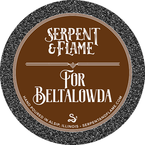 For Beltalowda Candle, Cinnamon Coffee
