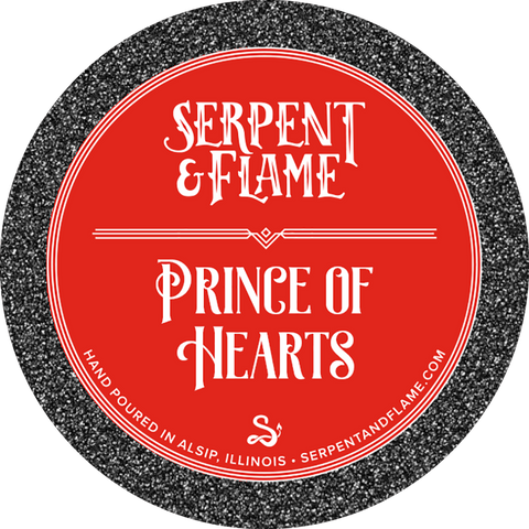 Prince of Hearts Candle, Apple Mint