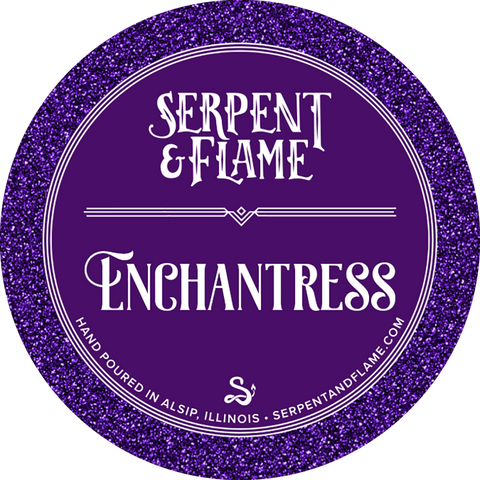 Enchantress Candle, Black Currant Blackberry Merlot