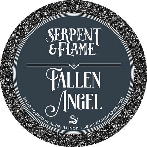 Fallen Angel Candle, Cedar Rain