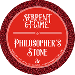 Philosopher's Stone Candle, Spiced Cranberry Cobbler