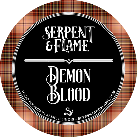Demon Blood Candle, Blood Orange