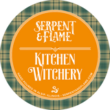 Kitchen Witchery Candle, Lemon Verbena Rosemary