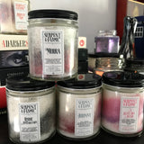 Rose Apothecary Candle, Coffee Earl Grey Cedar