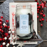 Grey Thief Candle, Gunpowder Sea Air Cedar