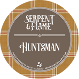 Huntsman Candle, Flannel Leaves Musk