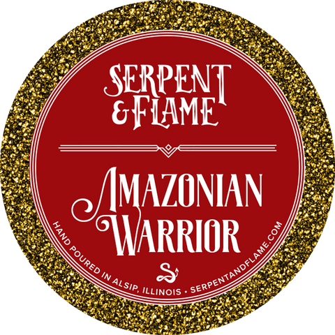 Amazonian Warrior, Fig Honey Amber