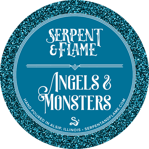 Angels & Monsters Candle, Honey Pumpkin Chai
