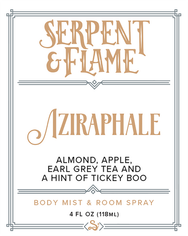 Aziraphale 4oz Spray, Almond Earl Grey