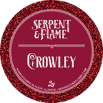 Crowley Candle, Whiskey Brimstone Cognac Bergamot
