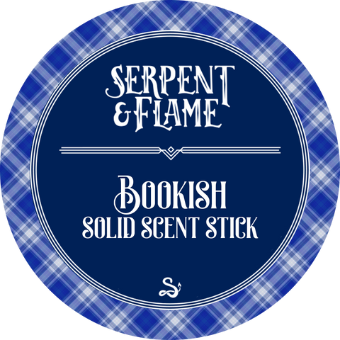 Bookish Solid Scent Stick