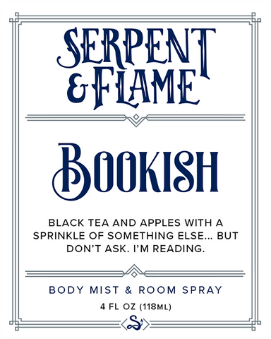 Bookish 4oz Spray, Tea Apple