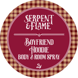 Boyfriend Hoodie 4oz Spray, Santal Cedar Wood Vanilla