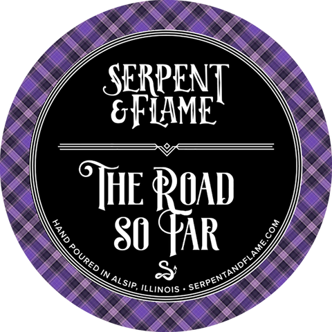 The Road So Far Candle, Spiced Blackberry Plum