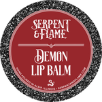 Demon, Chocolate Cherry Lip Balm