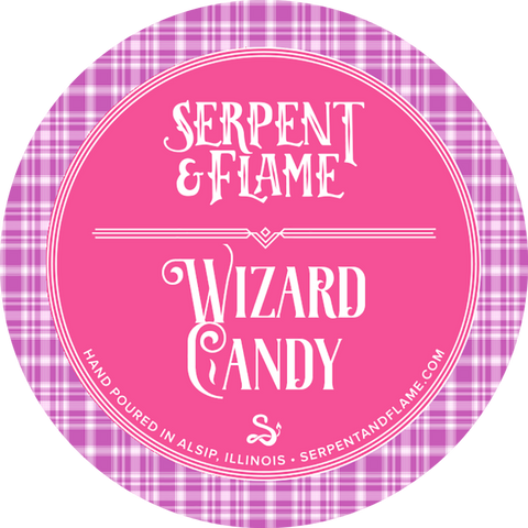 Wizard Candy Candle, Salt Water Taffy