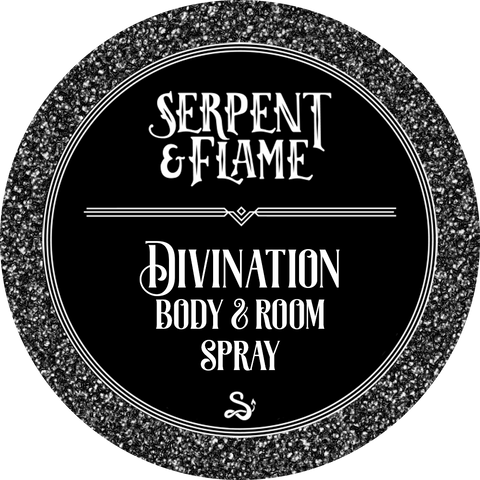 Divination 4oz Spray, Black Tea Lemon Sugar