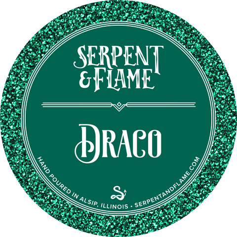 Draco Candle, Apple Spiced Citrus