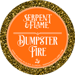 Dumpster Fire Candle, Spiced Red Tea