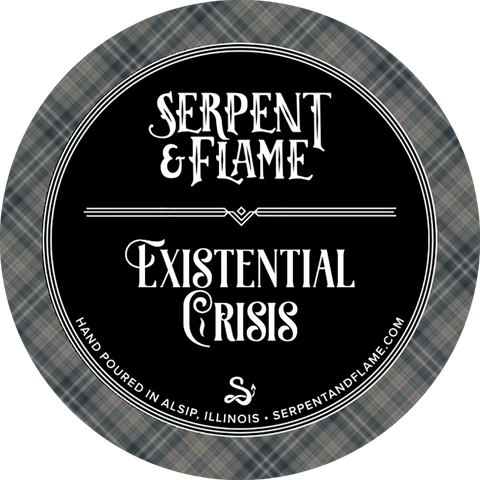 Existential Crisis Candle, Chamomile Bergamot Lavender