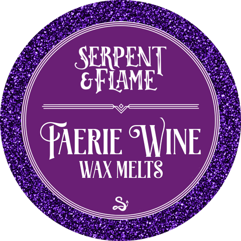 Faerie Wine Wax Melts, Cherry Merlot