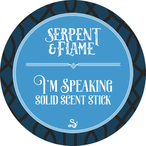 I'm Speaking Solid Scent Stick