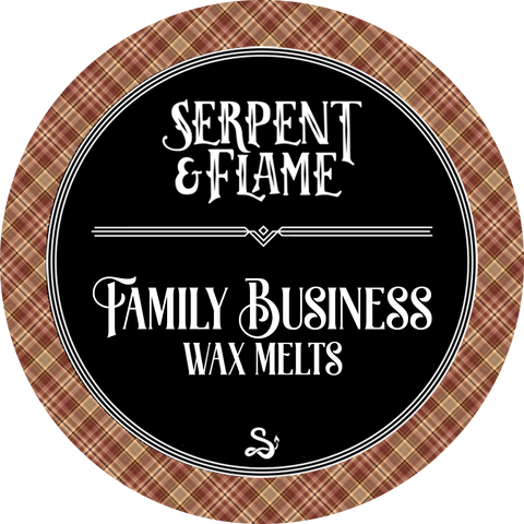 Family Business Wax Melts, Spiced Apple Pie