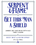 Get this Man a Shield 4oz Spray, Amber Bay Musk