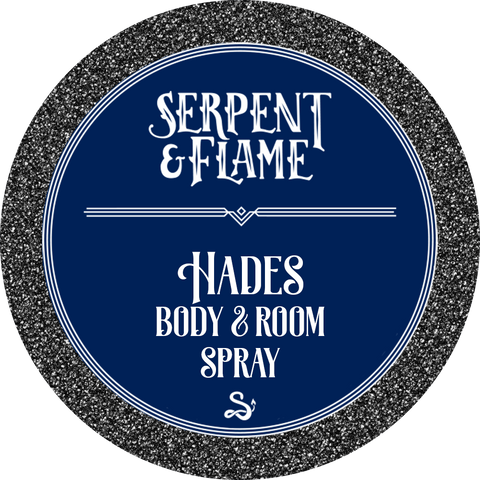 Hades 4oz Spray, Bonfire Water Pomegranate